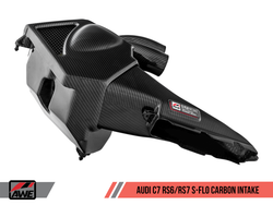 AWE Tuning S-FLO Carbon Fibre Intake Kit - RS6 / RS7 4.0TFSI