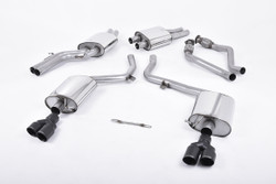 Milltek Cat-Back Exhaust - Audi S4 (B8)