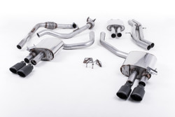 Milltek Cat-Back Exhaust - Audi S4 (B9) - Non-Sport Diff Cars