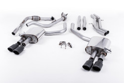 Milltek Cat-Back Exhaust - Audi S4 (B9) - Sport Diff Cars Only