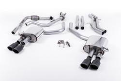 Milltek Cat-Back Exhaust - Audi S4 (B9) - Sport Diff Cars Only