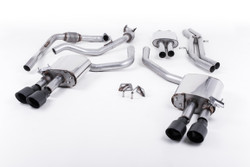 Milltek Cat-Back System - Audi S5 (B9) 3.0T Sportback (Sport Diff Vehicles Only)