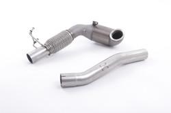 Milltek Cast High Flow Downpipe Options - SEAT Leon Cupra 300 (ST 4x4)