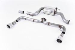"Milltek 3.00"" Race Cat-Back Exhaust - VW Golf Mk6 Edition 35"