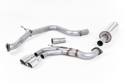 Milltek Cat-Back Exhaust - VW Golf Mk7 GTD