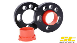 2 C5 Wheel Spacers 15mm 99-03 Spacer Kit 5x112 57.1 +OE Bolts For Audi S6
