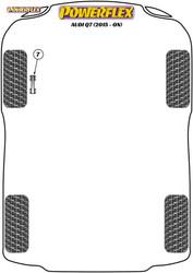Powerflex Front Anti Roll Bar Link Bush 12mm - Q7 (2015 - ON) - PFF3-913-12