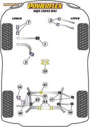 Powerflex Rear Diff Rear Bush Insert - SQ5 (2013 - 2017) - PFR3-743