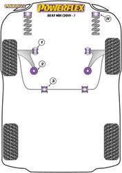 Powerflex Universal Exhaust Mount - Mii (2011-) - EXH023