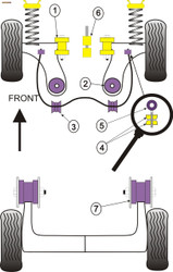 Powerflex PowerAlign Camber Bolt Kit (12mm) - Lupo (1999 - 2006) - PFA100-12