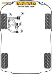 Powerflex Front Lower Wishbone Rear Bush - Touareg (2002 - 2010) - PFF85-1702