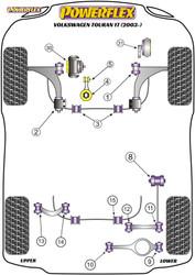 Powerflex Upper Engine Mount Insert - Touran 1T (2003-) - PFF85-532
