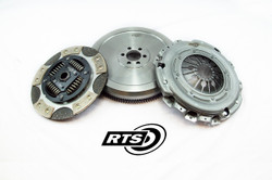 RTS Twin Friction Clutch Kit with Solid Flywheel