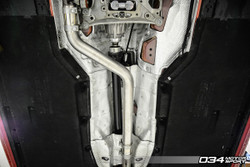034Motorsport Res-X Resonator Delete - Audi A4 / A5 B9 - 2.0T Quattro