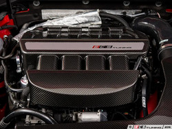ECS Tuning Carbon Fibre Engine Cover Black - 2.0T Gen 3 EA888