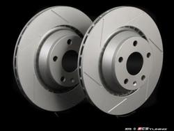 ECS Tuning - 310x22 Slotted Brake Discs - TT Mk2 Quattro