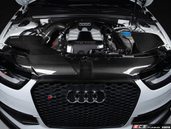 ECS Tuning Carbon Fibre Radiator Support Cover - B8 A4/S4 Facelift