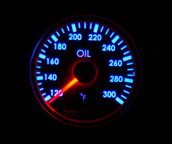 Newsouth Performance Indigo Oil Temperature Gauge - GAU003