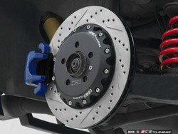 ECS Stage 1 Rear Big Brake Kit - Drilled and Grooved 306x22mm Rotors