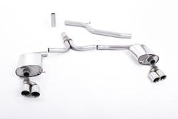 Milltek Cat-Back Exhaust for Audi A4 (B8) 3.0 TDI Quattro