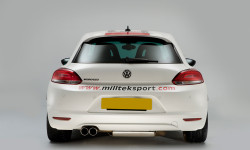 Milltek Cat-Back Exhaust -  Volkswagen Scirocco GT 2.0 TSI 200PS