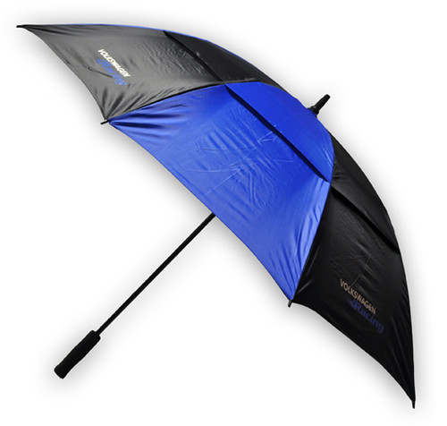 Volkswagen Racing - Umbrella - Black & Blue