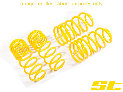 ST Suspension Lowering Springs - VW Golf Mk5