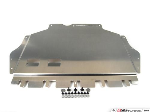 ECS Tuning Street Shield Aluminum Skid Plate Kit