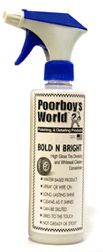 Poorboy's Bold N Bright Tyre Dressing (473ml)