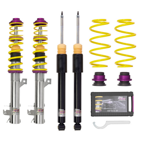 KW Variant 1 Coilovers - Audi S4 (B8) - For vehicles With Electronic Damping