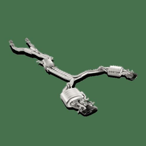 Akrapovic 'Evolution Line' Titanium Exhaust System - Audi RS6 Avant (C7)