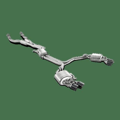 Akrapovic 'Evolution Line' Titanium Exhaust System - Audi S6 (C7)