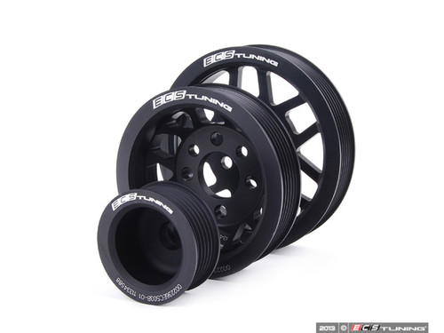ECS Lightweight Underdrive Pulley Set for 1.8T Engine