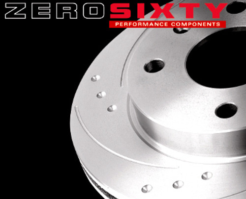 Zero Sixty Rear Brake Discs - Seat Ibiza (6L)