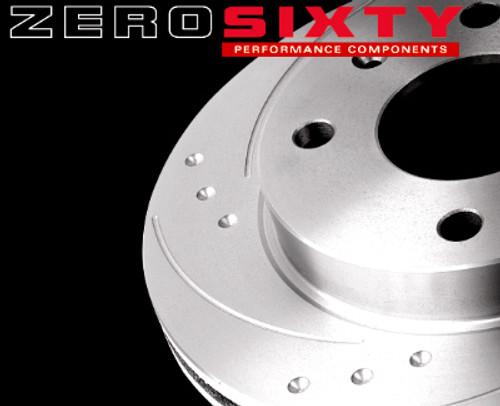Zero Sixty Rear Brake Discs - VW Golf Mk5