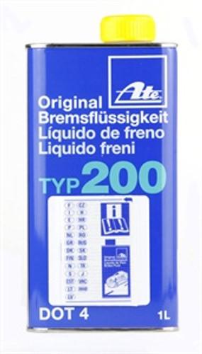ATE TYP200 High Performance DOT4 Brake Fluid - 1 Ltr
