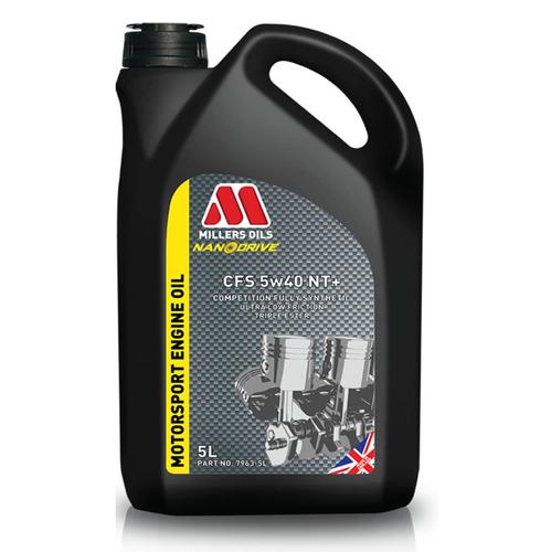 Millers Nanodrive 'CFS' 5w40 NT+ Engine Oil - 5 Litre