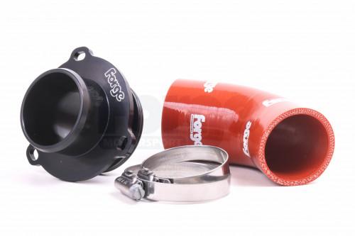 Forge Motorsport Muffler Delete for KO4 Turbo - EA113 T-FSI