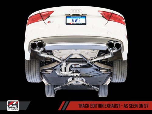 AWE Tuning S6 4.0T Track Edition Exhaust
