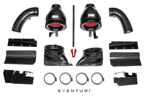 Eventuri Carbon Fibre Intake System - Audi RS4 (B8) 4.2FSI