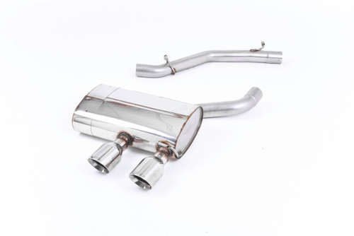 Milltek Cat-Back Exhaust - VW Golf Mk5 R32