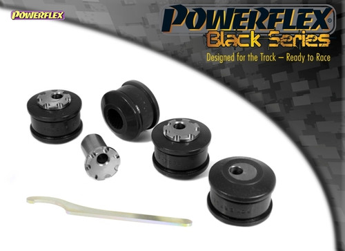 Powerflex Black Front Upper Arm To Chassis Bush Camber Adjustable - RS6 Avant (2002 - 2005) - PFF3-203GBLK