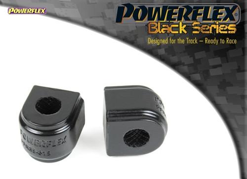 Powerflex Black Rear Anti Roll Bar Bush 20.7mm - Leon MK3 5F upto 150PS (2013-) Rear Beam - PFR85-815-20.7BLK