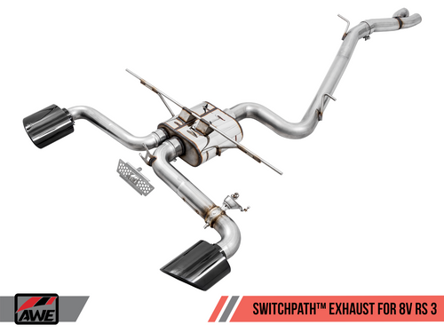 AWE Tuning SwitchPath Exhaust System - RS3 8V Saloon