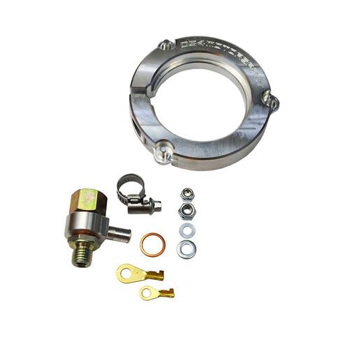 034Motorsport Billet Drop-In Fuel Pump Adapter Kit - Bosch 60mm