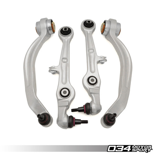 034Motorsport Street Density Front Lower Control Arm Kit - Audi A4/S4/RS4 (B7)