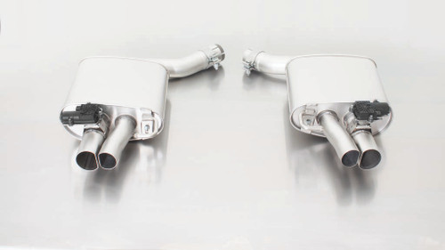 Remus Non-Resonated Axle back System Left/Right with Integrated valves using the OE valve control system with Uses OE Tailpipes - RS7 4G 2013-