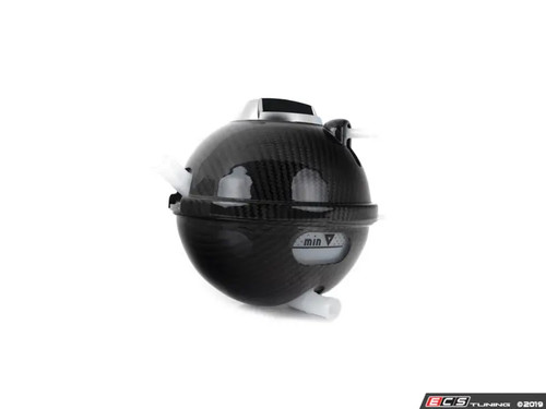 ECS Tuning Carbon Fibre Coolant Tank Covers - 2.0TFSI