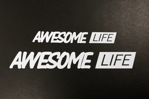 Awesome Life Decal/Sticker