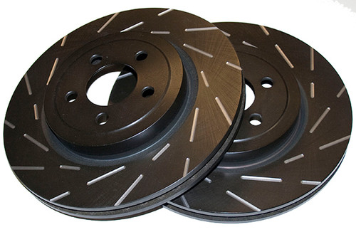 EBC Ultimax Grooved Discs Front - A4 (B8)